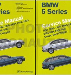 1997 2002 bmw 5 series bently repair manual 2 vol set [ 1211 x 798 Pixel ]