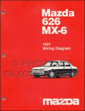 1997 Mazda 626 and MX6 Body Electrical Troubleshooting