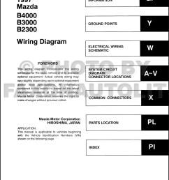 1997 mazda wiring diagram 2 sg dbd de u20221997 mazda b4000 b3000 b2300 pickup truck [ 1000 x 1304 Pixel ]
