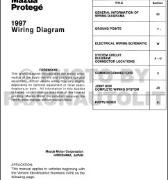 1997mazdaprotegeowd toc 1997 mazda protege wiring diagram manual original 1999 mazda protege speaker [ 1000 x 1345 Pixel ]