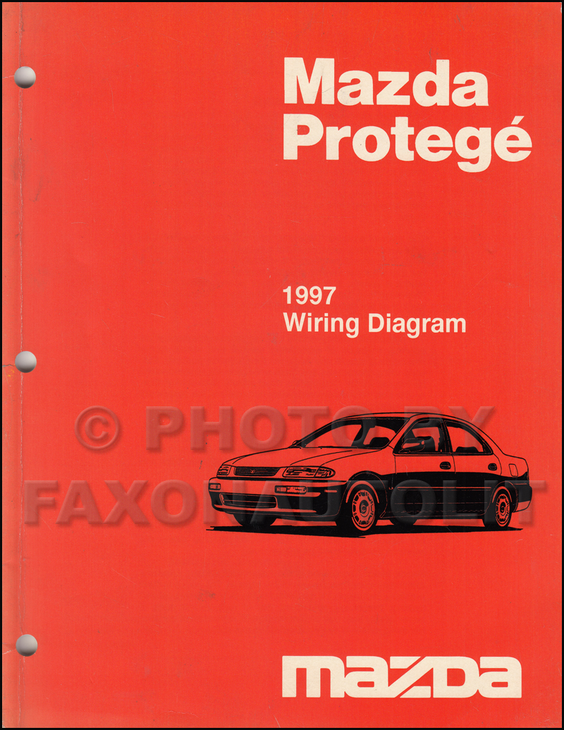 medium resolution of 1997 mazda protege wiring diagram manual original rh faxonautoliterature com 97 mazda protege stereo wiring diagram
