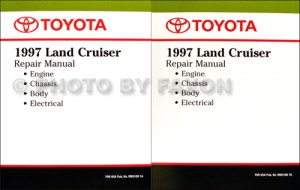 1997 Toyota Land Cruiser Wiring Diagram Manual Original