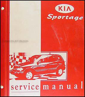 19982001 Kia Sportage Repair Shop Manual Original