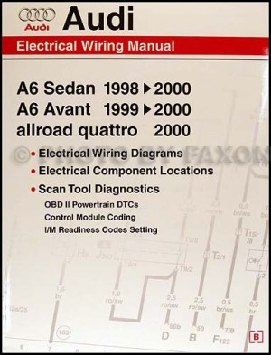19982000 Audi A6 Wiring Diagram Manual