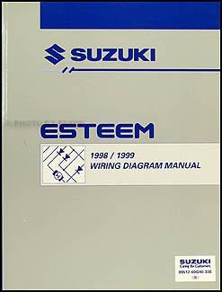 19981999 Suzuki Esteem Wiring Diagram Manual Original