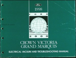 1998 Crown Victoria Grand Marquis Electrical
