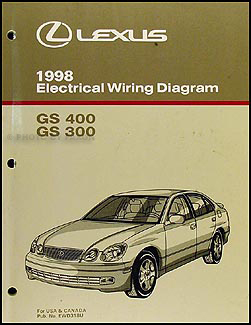 1998 Lexus GS 300 400 Wiring Diagram Manual GS300 GS400
