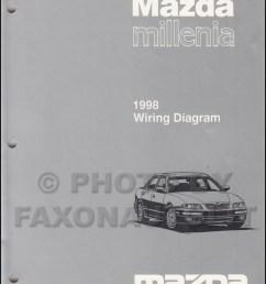 1998 mazda millenia wiring diagram manual original rh faxonautoliterature com 1998 mazda protege 2000 mazda [ 800 x 1040 Pixel ]