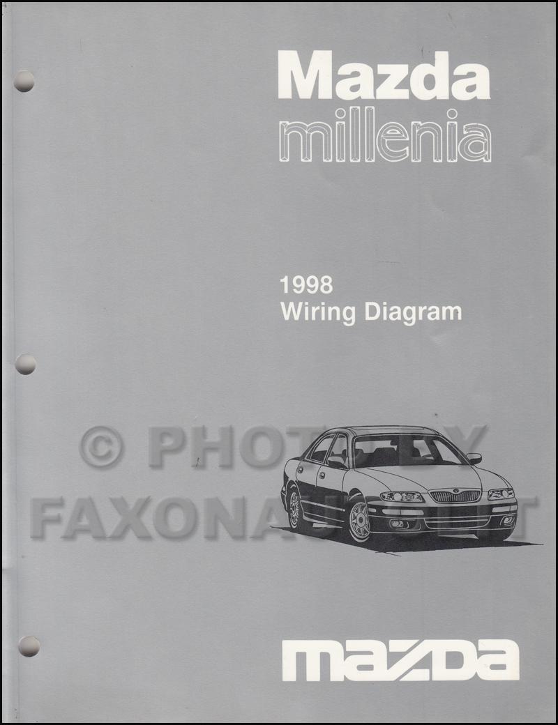 medium resolution of 1998 mazda millenia wiring diagram manual original rh faxonautoliterature com 1998 mazda protege 2000 mazda