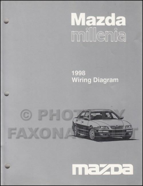 small resolution of 1998 mazda millenia wiring diagram manual original rh faxonautoliterature com 1998 mazda protege 2000 mazda