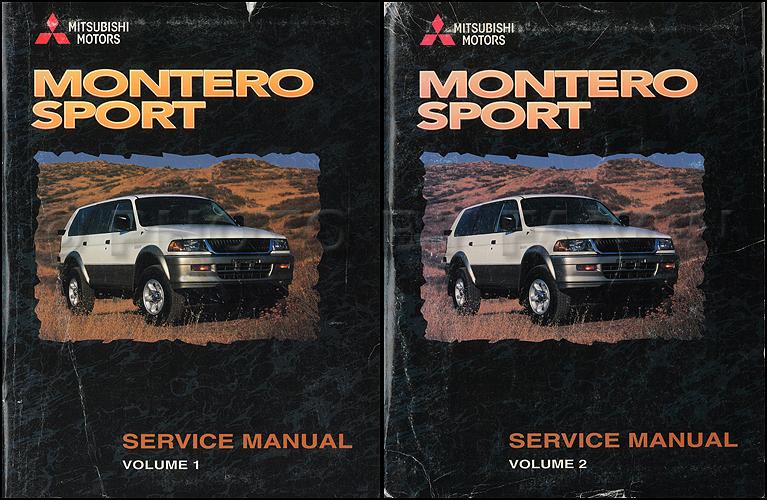 Montero Manual Sport 1998 Mitsubishi