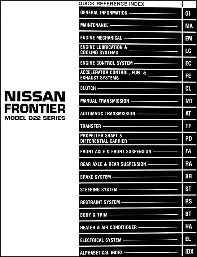 Nissan Frontier Stereo Wiring Diagram Wiring Diagrams And Schematics