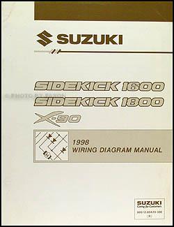 1998 Suzuki Sidekick 1600 and Sport 1800 X90 Wiring