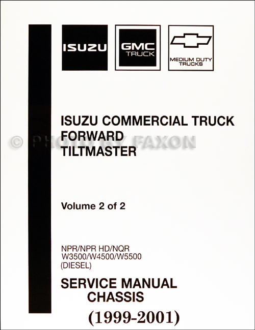 1999-2001 Diesel Chassis Repair Shop Manual Factory