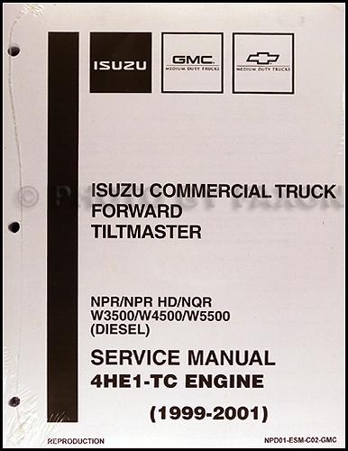 2001 isuzu npr radio wiring diagram lutron 3 way switch 2004 great installation of 1999 diesel engine 4he1 tc repair shop manual nqr rh faxonautoliterature com