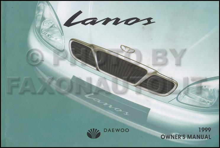 daewoo lanos wiring diagram 2007 f150 power mirror 1999 owner s manual original