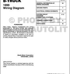 1999 mazda b4000 b3000 b2500 pickup truck wiring diagram 96 mazda b3000 fuse diagram 1999 mazda b3000 fuse box diagram [ 1000 x 1352 Pixel ]