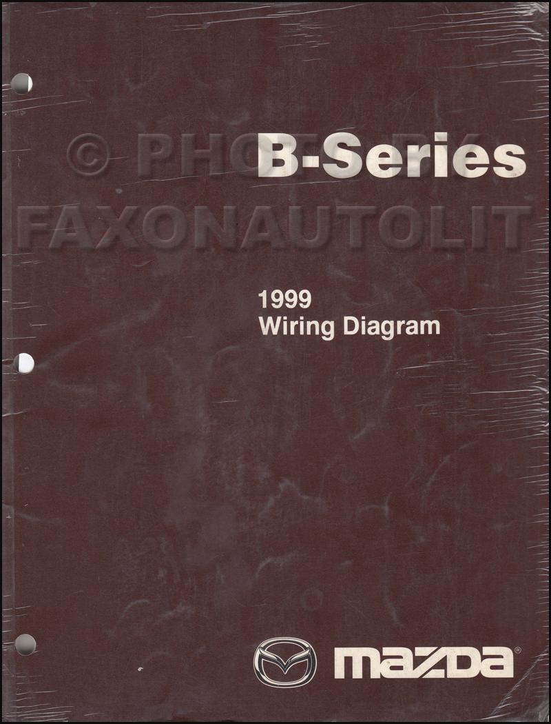 medium resolution of 1999 mazda b4000 b3000 b2500 pickup truck wiring diagram manual original 1999 mazda b3000 radio wiring diagram 1999 mazda b3000 fuse diagram