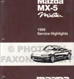 1999 mazda mx 5 miata service highlights original service training manual mx5 [ 1000 x 1302 Pixel ]