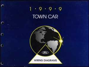 1999 Lincoln Town Car Original Wiring Diagrams
