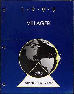1999 Mercury Villager Wiring Diagram Manual Original