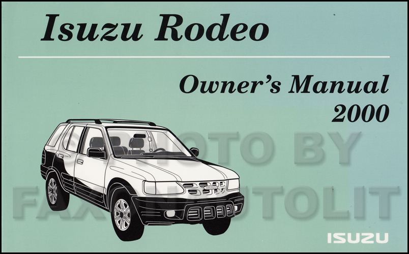 Isuzu Rodeo Rodeo Sport Electrical Wiring Diagram Pdf Car 2003 Isuzu
