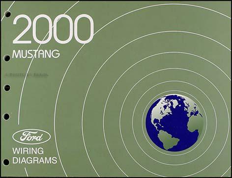 2000 Ford Mustang Wiring Diagram Manual Original
