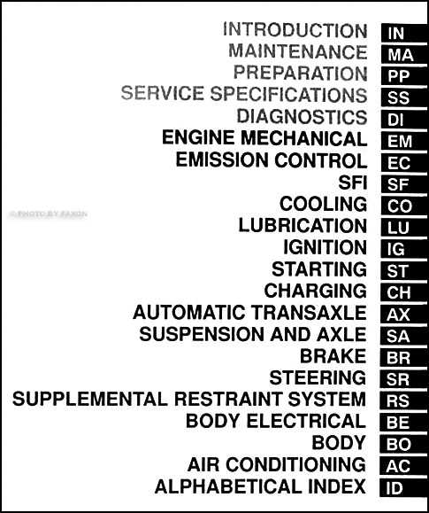 2000 Toyota Avalon Repair Shop Manual 2 Volume Set Original