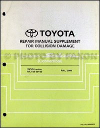 2003 Toyota Camry Solara Wiring Diagram Manual Original ...