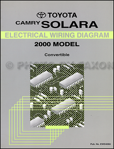 2000 Toyota Camry Wiring Diagram Toyota Camry Electrical Wiring