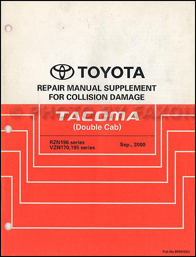 1997 Toyota Tacoma Wiring Diagram