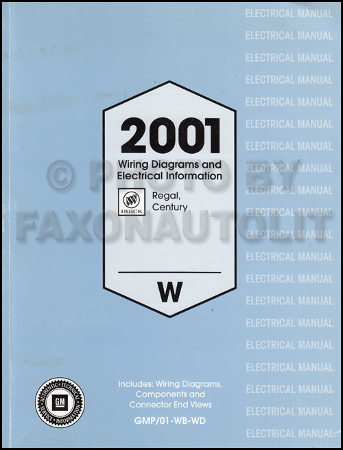 wb wiring diagram 4 wire to 5 trailer 2001 buick regal and century manual original