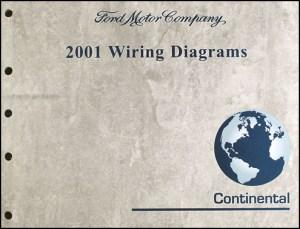 2001 Lincoln Continental Wiring Diagram Manual Original