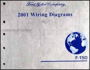 2001 Ford F150 Wiring Diagram Manual Original