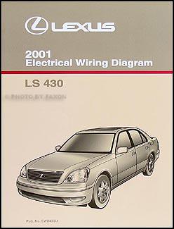 2001 Lexus LS 430 Wiring Diagram Manual Original