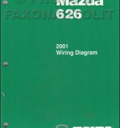 2001 mazda 626 wiring diagram [ 800 x 1042 Pixel ]