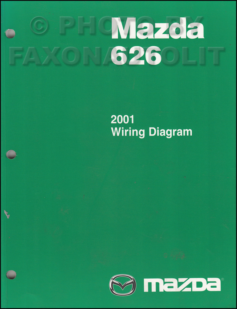 medium resolution of 2001 mazda 626 wiring diagram