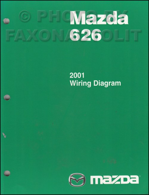 small resolution of 2001 mazda 626 wiring diagram
