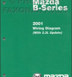 2001 mazda b series pickup truck wiring diagram manual original b2300 b4000 [ 800 x 1033 Pixel ]