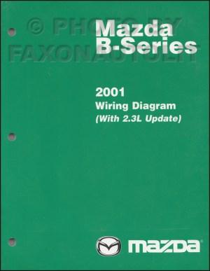 2001 Mazda BSeries Pickup Truck Wiring Diagram Manual