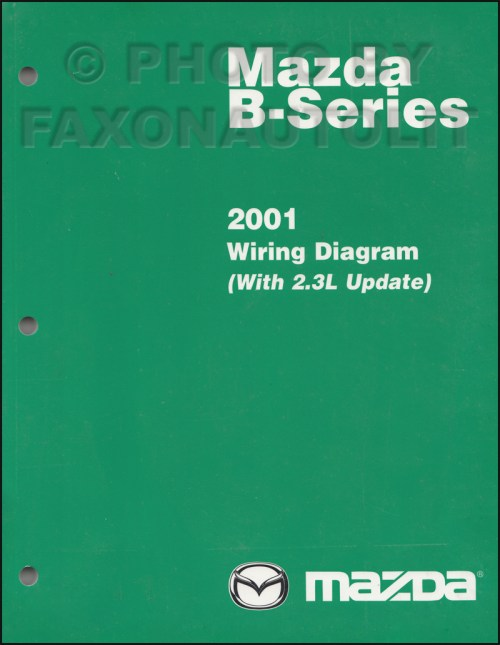 small resolution of 2001 mazda b series pickup truck wiring diagram manual original b2300 b4000