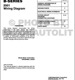 2001 mazda b series pickup truck wiring diagram manual original b2500 b3000 b4000 2001 mazda b3000 [ 1000 x 1314 Pixel ]