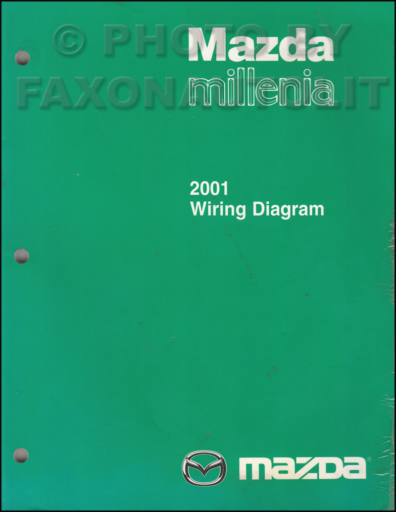 medium resolution of 2001 mazda millenia wiring diagram manual original rh faxonautoliterature com 2001 mazda millenia alternator 2001 mazda