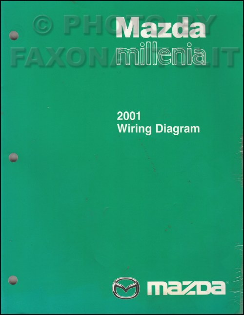 small resolution of 2001 mazda millenia wiring diagram manual original rh faxonautoliterature com 2001 mazda millenia alternator 2001 mazda