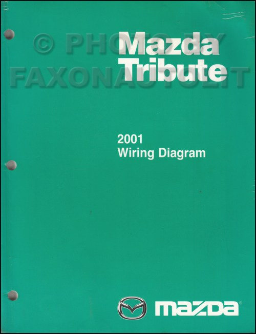 small resolution of 2001 mazda tribute wiring diagram manual original rh faxonautoliterature com 2001 mazda tribute alternator wiring diagram mazda tribute 2001 electrical