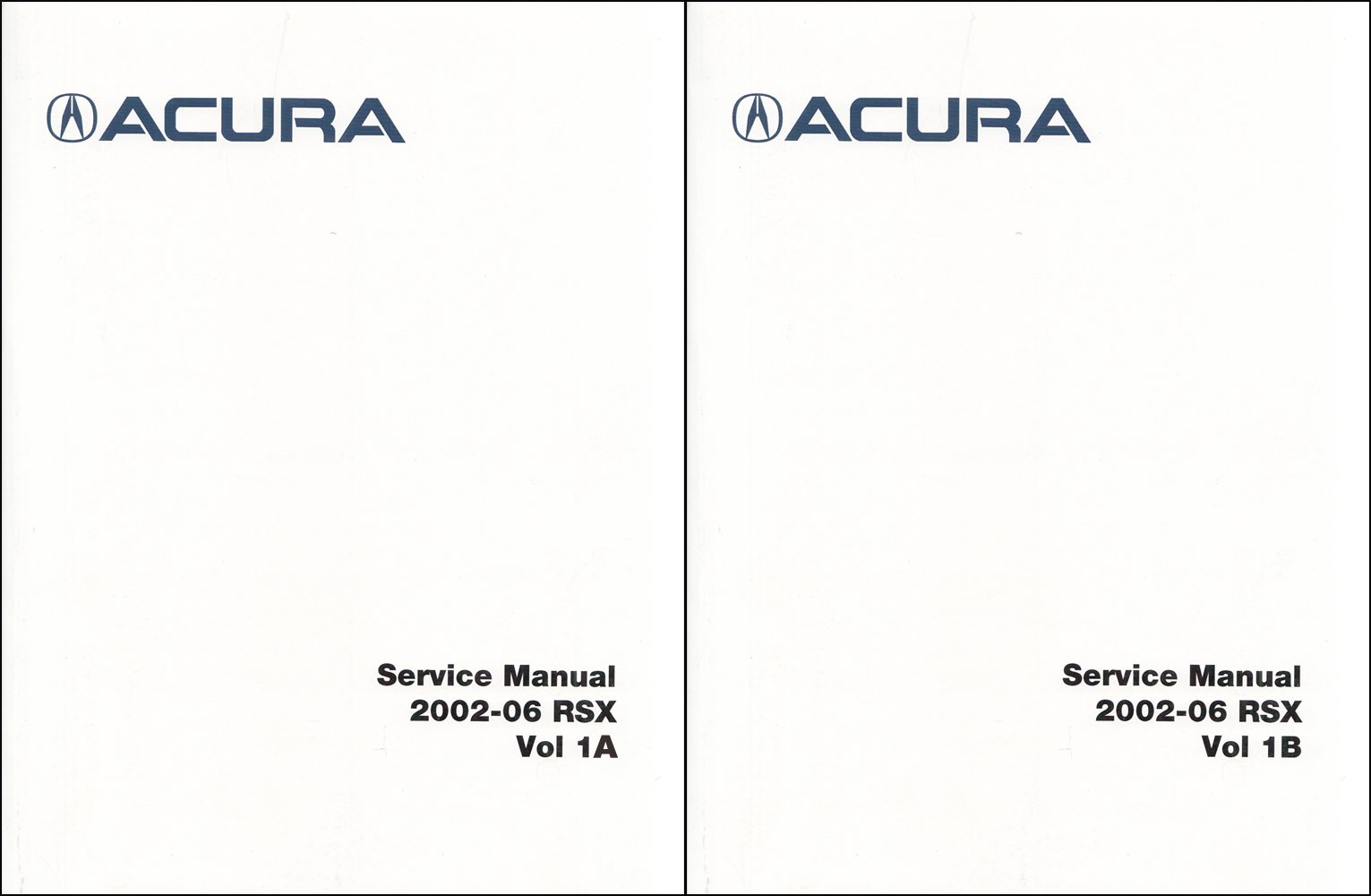 2006 Acura RSX Owners Manual Original