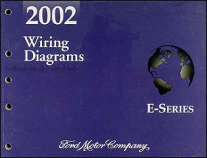 2002 Ford Econoline Van & Club Wagon Wiring Diagram Manual