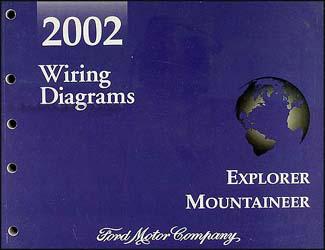 2002 ford explorer wiring diagram ac motor starter mercury mountaineer manual original