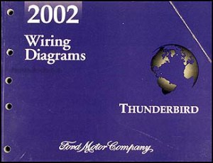 2002 Ford Thunderbird Wiring Diagram Manual Original