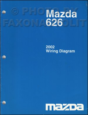 2002 Mazda 626 Wiring Diagram Manual Original